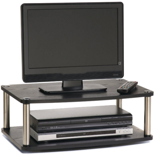 Tabletop tv stand pictured convenience concepts designs 2 go 2 tier