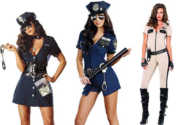 Police Women Halloween Costumes