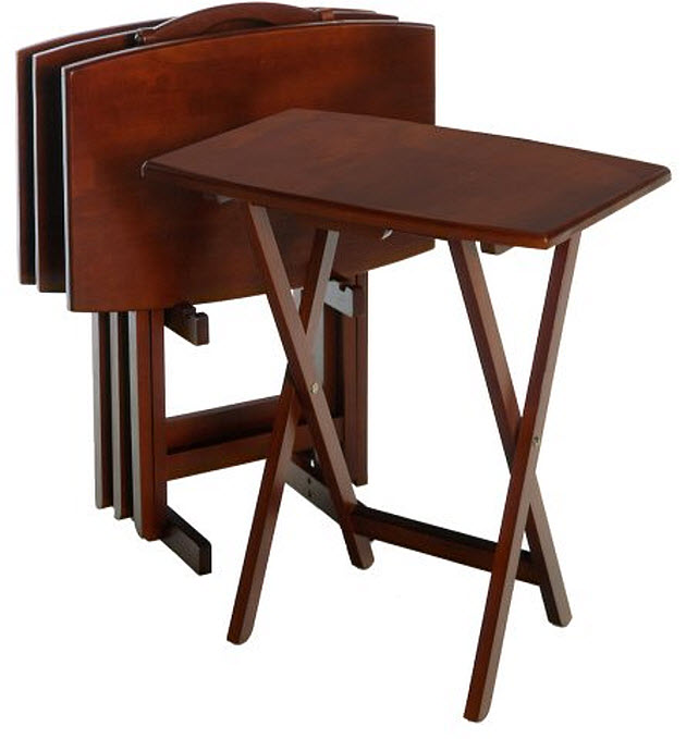 Eating Tables: Folding TV Tray Tables
