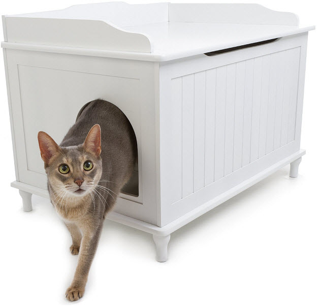 litter box furniture walmart