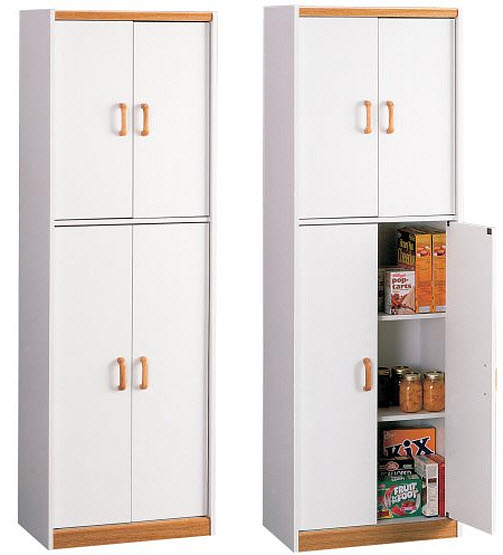 white storage cabinets with doors findabuy. Black Bedroom Furniture Sets. Home Design Ideas