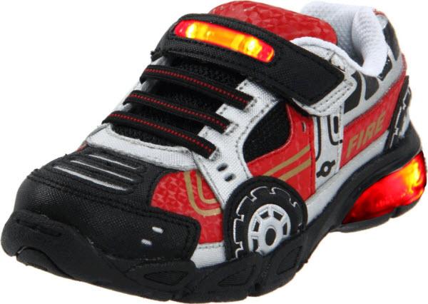 Little Kid S Stride Rite Cars Lighted Sneaker