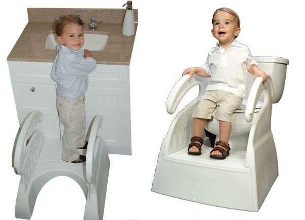 Potty Training Step Stool Pictured The Potty Stool For