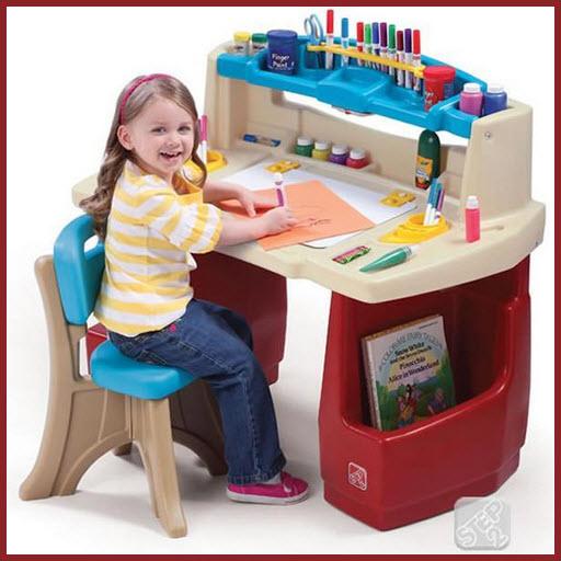 arts and crafts table for kids findabuy. Black Bedroom Furniture Sets. Home Design Ideas
