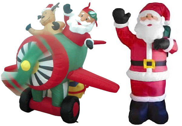 outdoor animated santa claus decoration findabuy