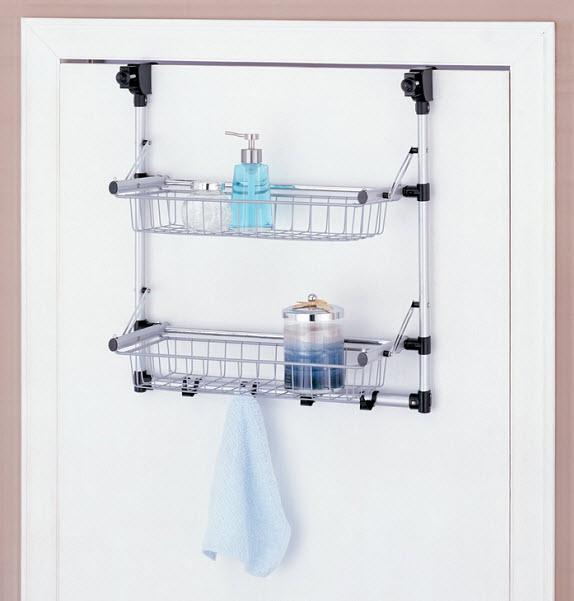 Over The Door Hanging Storage For Bathroom Findabuy