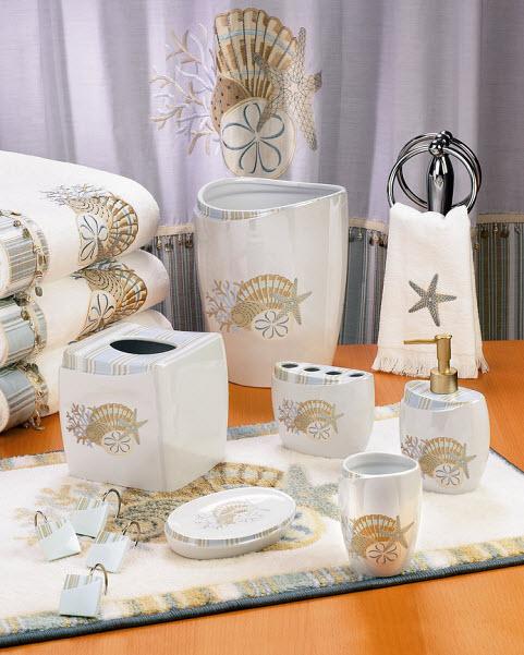 Seashell Bathroom Accessories