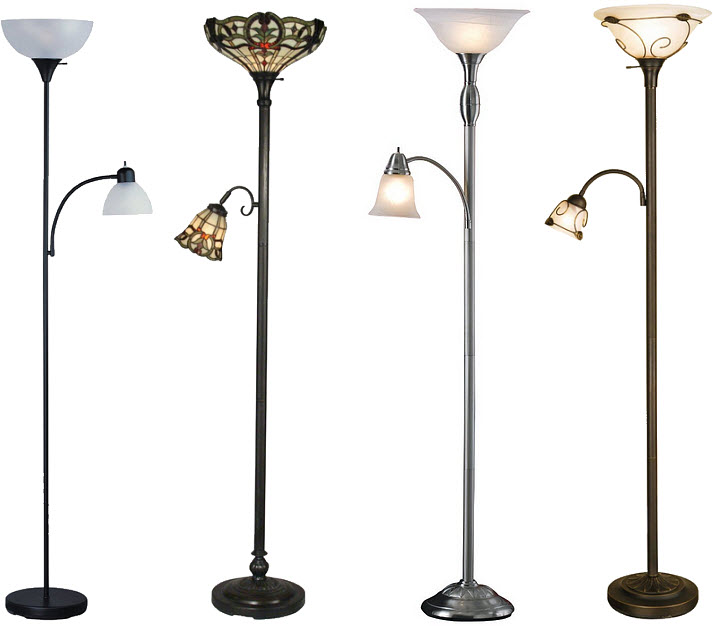 floor lamp reading lamp combination findabuy With combination floor lamp and reading lamp
