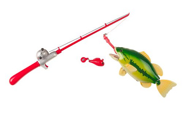 Toy fishing pole for kids findabuy for Fishing pole for kids