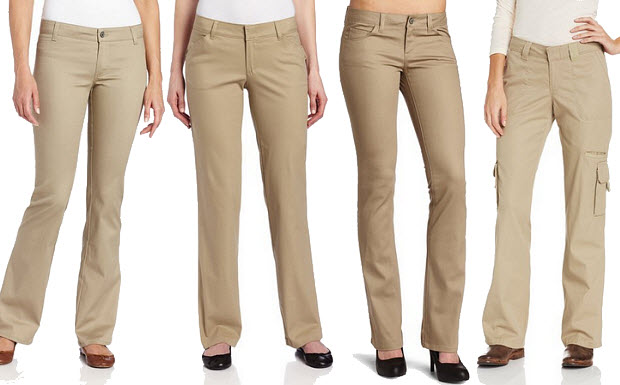 Elegant Home Hers Clothing Pants Beige Women39s Size 8X31 Casual Pants Cotton