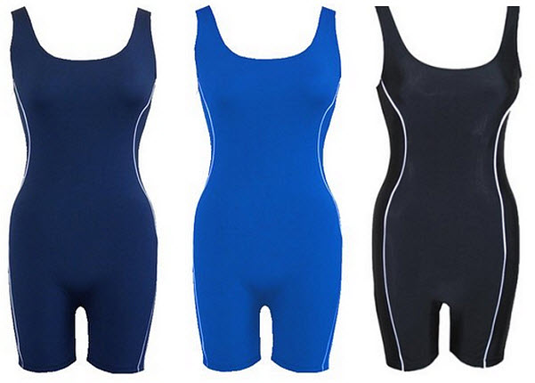 Womens unitard swimsuit