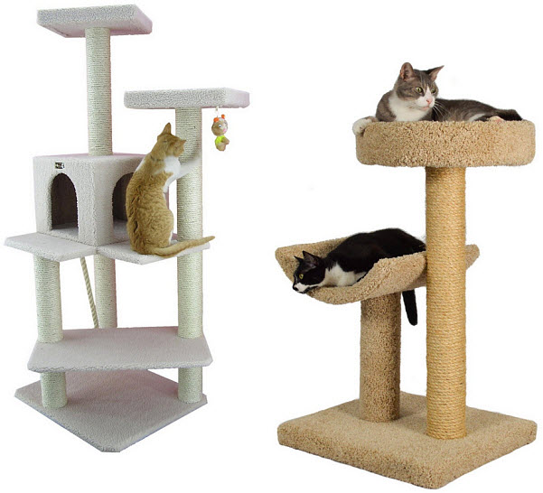 Carpeted Cat Condo Findabuy