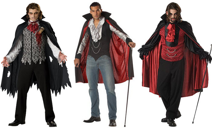 Mens vampire Halloween costume