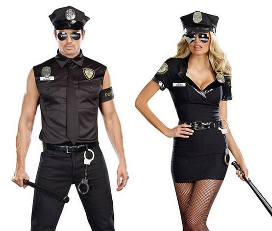 Sexy police Halloween costume