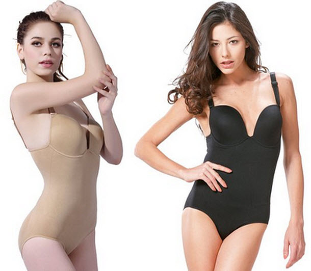 Bodysuit with bra