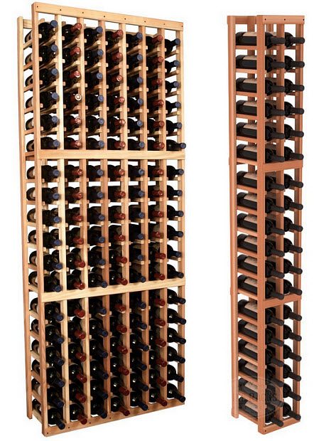 Wooden wine rack kit