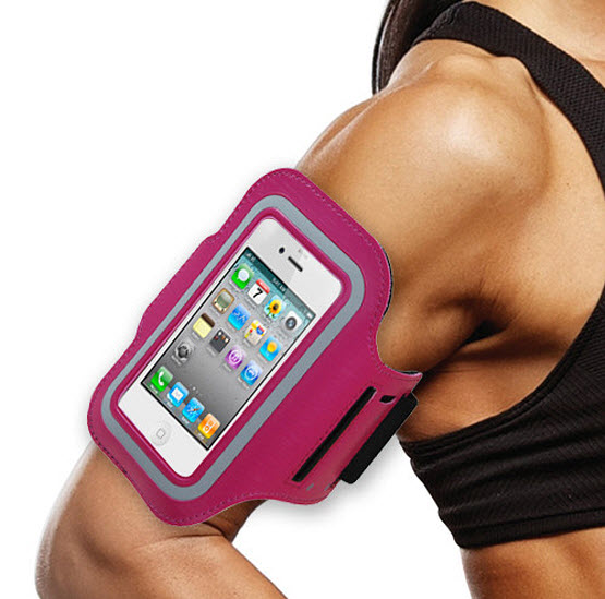 Sports armband for phone