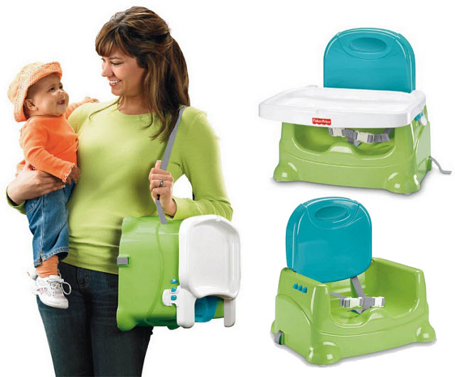 Portable baby booster seat